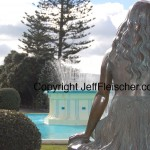 Jeff Fleischer photo of Pania statue in Napier